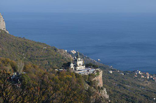 Foros, Church, Landscape, Crimea