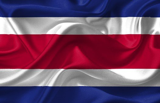 Costa Rica, Country, Flag, American