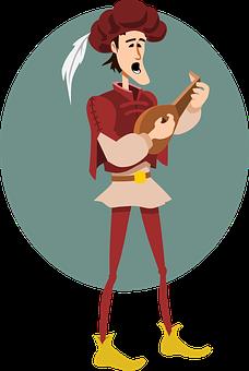 Troubadour, Musician, Ukulele