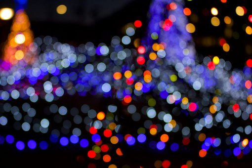 Illumination, Ball, Winter, Christmas