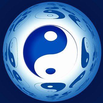 Ball, Yin, Yang, New Age, Interaction