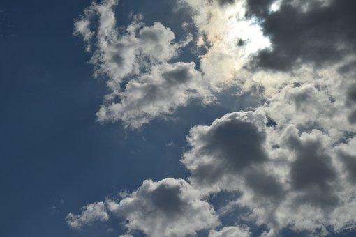 Cloudy, Blue, Sky