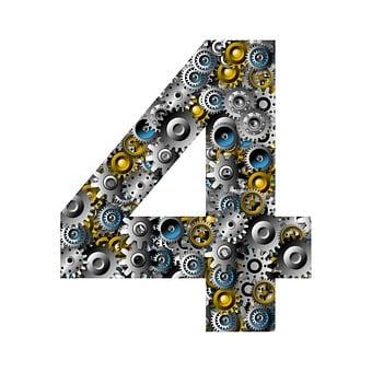 Gears, Numbers, Engineering, Mechanical, Technology