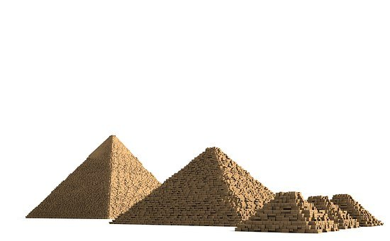 Pyramids, Egypt, Building, Places Of Interest