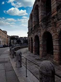 Romano, Verona, Amphitheatre, Italy, Archi