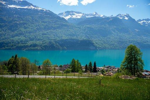 Brine, Water, Switzerland, Landscape, Nature, Lake, Sky