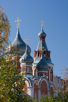 Architecture, Temple, Orthodox, Cathedral, Church, City