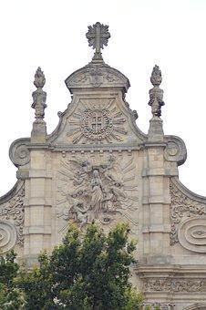 Building, Chapel, Outside, Facade, Cambrai