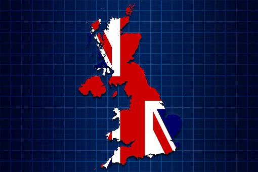 United Kingdom, Uk, Map, England, English, British