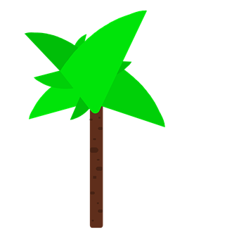 Palm, Graphic Palm, Green Palm, Green, Vector Palm