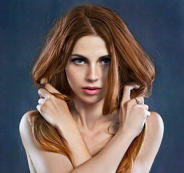 Woman, Beauty, Makeup, Girl, Hair, Hairstyle, Style