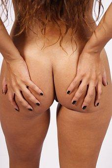 Women, Nude, Rear, Sexy, Beauty, Sensual, Hands, Erotic