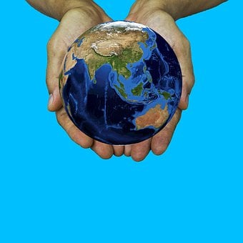 Earth, World, Hands, Global Offer