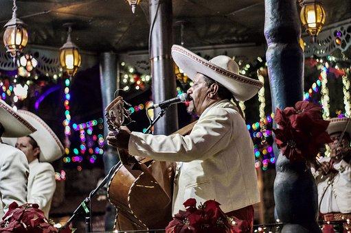 Mariachi, Guitar, Mexico, Music, Instrument, Guitarist
