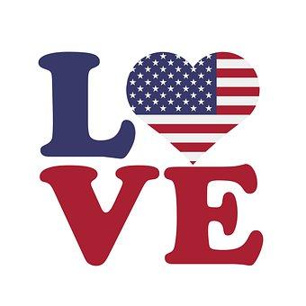 I Love To Use, Heart, America, Love, Uses