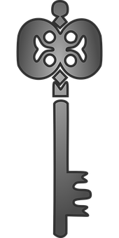 Skeleton Key, Key, Old, Lock, Vintage