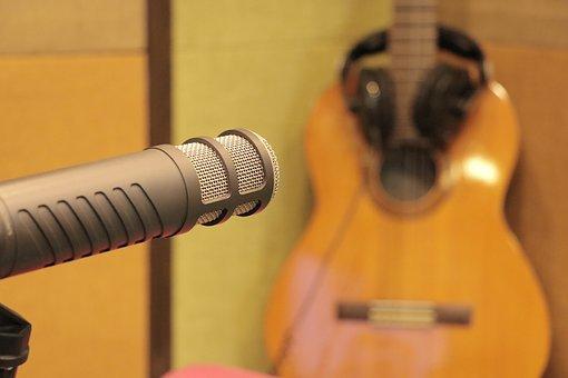 Mic, Microphone, Dubbing, Music, Radio, Speech, Studio