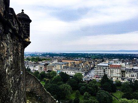 Edinburgh, Tourism, Scotland, Castle, History