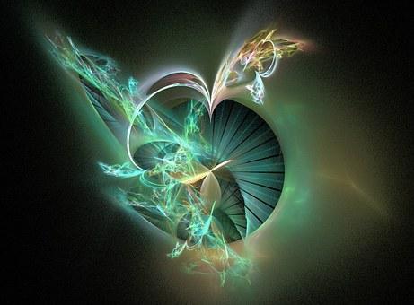Fractal, Swirls, Design, Motion, Space, Backdrop