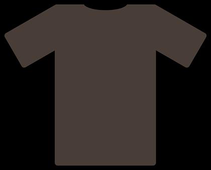 Tee, Shirt, Brown, Fashion, Design, Apparel, Cotton