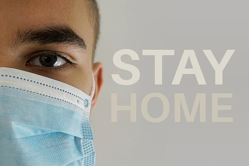 Stay Home, At Home, Corona, Curfew, Solidarity