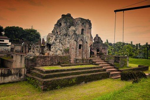 Tample, Rock, Indonesia, Landscape, Travel, Nature