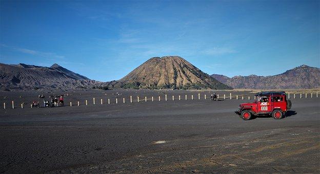 Bromo, Whispering Sand, East Java, Travel, Sand
