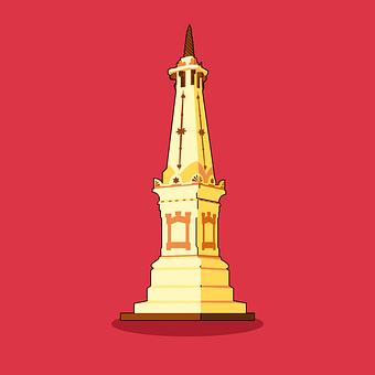 Yogyakarta, Tugu, Indonesian, Monument, Historical