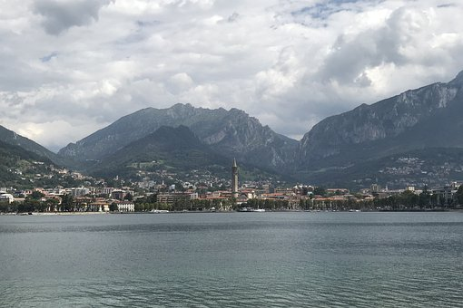 Italy, Lake, Mountains, Como, Alpine
