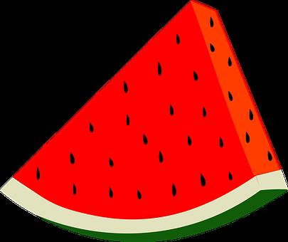 Fruit, Harvest, Slice, Summer, Watermelon