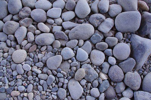 Stones, Nature, Gray, Ashen Color, Grey