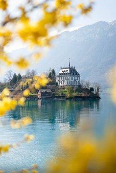 Switzerland, Iseltwald, Brine, Nature, Spring, Corona