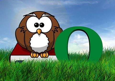 Letters, Eagle Owl, Owl, Education