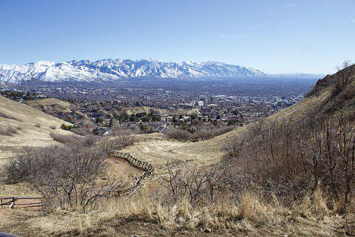 Mountain, Valley, Desert, Scenic, Nature