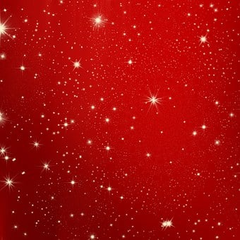 Star, Christmas, Red, White, Snow, Advent, Tree