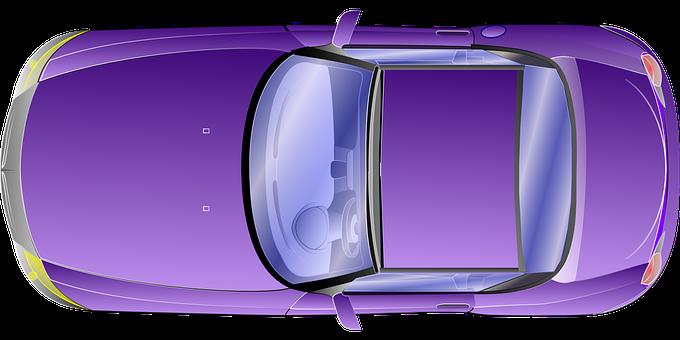 Car, Vehicle, Violet, Purple, Transportation, Travel
