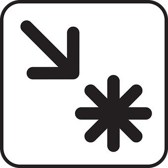 Point Of Interest, Poi, Arrow, Direction, Star, Symbol