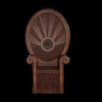 Chair, Fan, Madrid, Tropical, Summer, Throne, Style