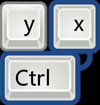 Keys, Keyboard, Cut, Shortcut, Icon