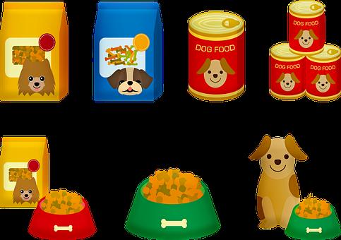 Dog Food, Dog, Puppy, Kibbles, Eat, Food, Snack, Pet