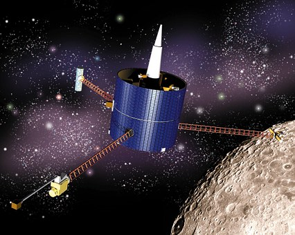 Lunar Prospector, Spaceship, Satellite