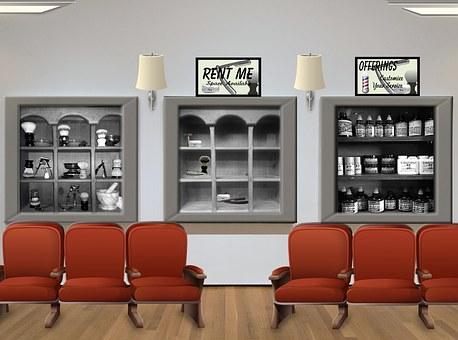 Salon, Barber, Waiting Room, Hair, Business, Room
