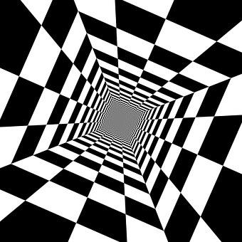 Wild, Checkered, Checkers, Checkerboard, Pattern, White