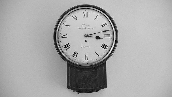 Clock, Old, Time, Antique, Face, Vintage, Numerals