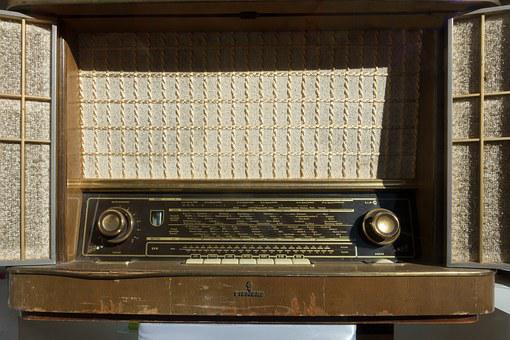Radio, Old, Antique, Full Steam Radio, Siemens, German