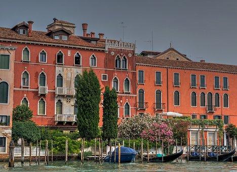 Venice, Italy, Canal, Architecture, Venezia, Landmark