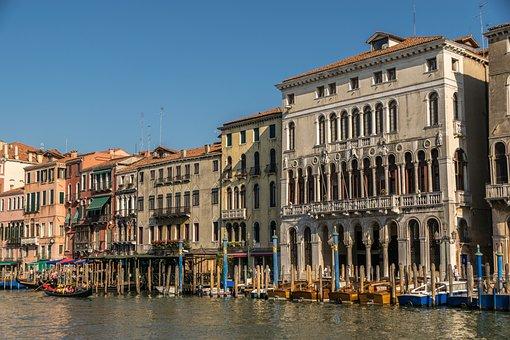 Venice, Canal Grande, Channel, Venezia, Italy