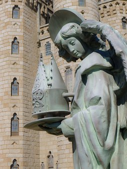 Angel, Gaudí, Astorga, Castle, Palace, City, Beautiful