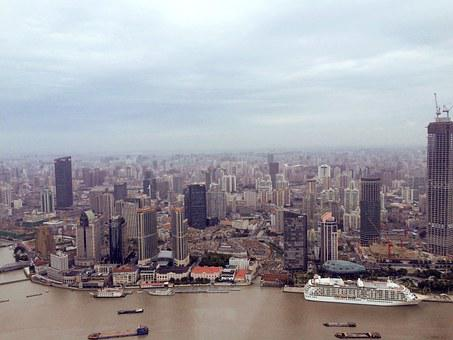 Shanghai, China, Pearl Of The Orient, Panorama