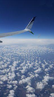Plane, Clouds, View, Flight, Airplane, Travel, Aircraft